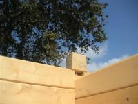 Angle maisons bois