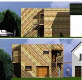 Architecte vernon maison ossature bois ile de france