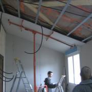 Artisan plaquiste travaux platrerie isolation