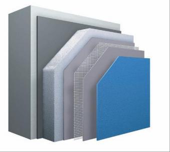 Autre solution pour isolation exterieure avec crepis sur ossature metal