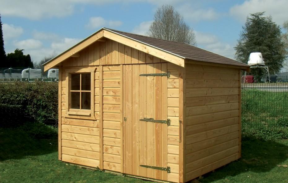 Abris de jardin construits en ossature bois for Constructeur ossature bois