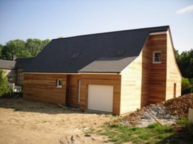 Constructeur de maison en bois sur Falaise