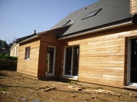 Agrandissement et maison en bois lisieux for Constructeur maison lisieux