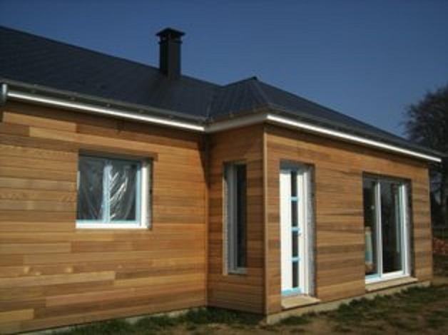 maison en bois construction en ossature ou bois massif. Black Bedroom Furniture Sets. Home Design Ideas
