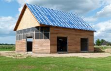 Constructeur maison en boisavec combles amenages