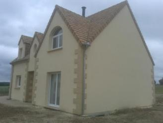 Construction d 39 une maison traditionnelle dans les yvelines for Maison traditionnelle 78