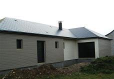 Construction maison bois maison bois bardage de couleur 1