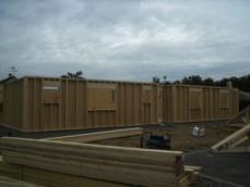 Construction maison bois murs en ossature bois et charpente fermettes 1