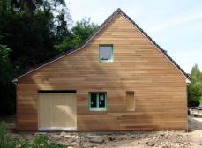 Construction maison ossature bois rouen normandie 1