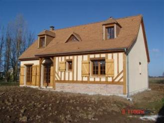 Construction maison traditionnelle habitation individuelle
