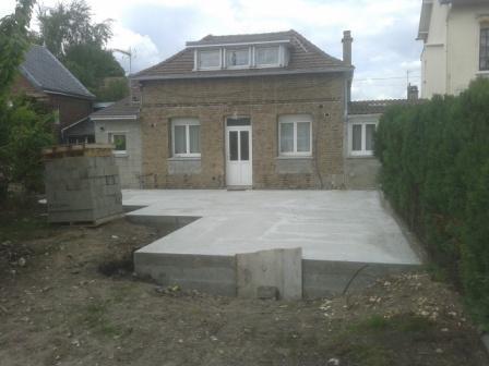 Extension d\'une maison ancienne à Rouen, fabriqué en bois