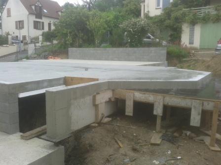construction dans les yvelines d 39 une maison en ossature bois. Black Bedroom Furniture Sets. Home Design Ideas