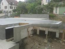 Dalle beton sur micro pieux