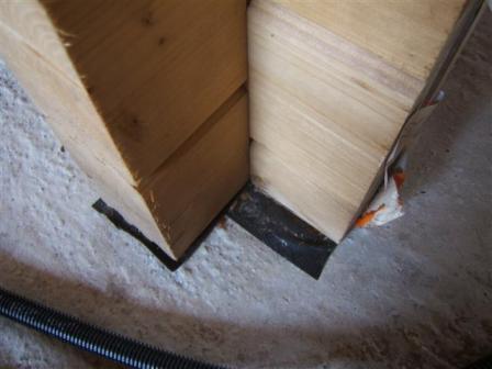 Notice de construction et montage d 39 un chalet for Montage maison bois