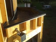 Etancheite du toit du bow window