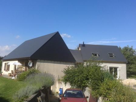 Construction d 39 un agrandissement en ma onnerie rouen for Agrandissement maison 76