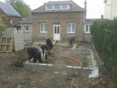 Extension de maison les fondations 1