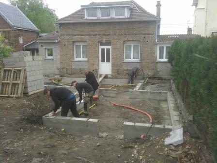 ... Extension De Maison Les Fondations 1 ...