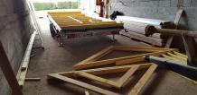 Fabrication des murs en ossature bois de tiny house