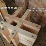 Fabrication en double madriers