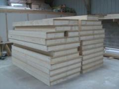 Fabrication murs ossature bois