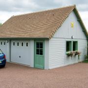 Garage bois modele mont blanc