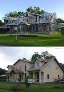 Habillage d une maison ossature metallique 1