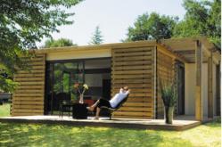 Habitation légere construite en maîtrise d'oeuvre