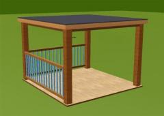 Hll modulo module terrasse