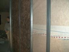 Isolation interieur de maison ossature bois evreux 1