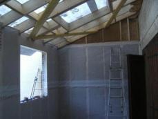 Isolation interieur laine de bois