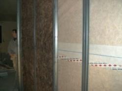 Isolation murs interieur en panneaux bois