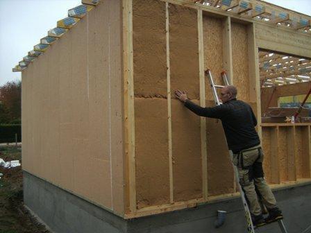 isolation maison à ossature bois