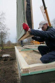 Kit maison ossature bois auto construction
