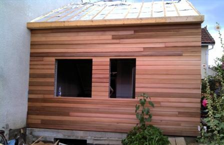 Construction d 39 un agrandissement dans les yvelines for Agrandissement maison ossature metallique