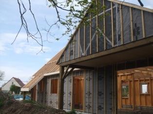 Maison en ossature bois mantes la jolie for Agrandissement maison yvelines