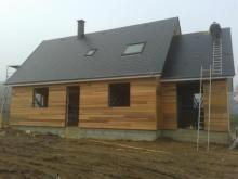 Maison en bois a evreux 27