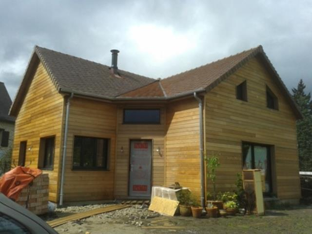 Maison en bois avec rabagrain 1