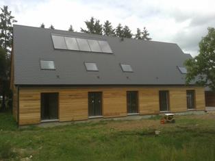 Maison bois dreux 28 construction artisanale eure et loir for Constructeur maison contemporaine eure et loir