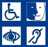 Maison fauteuil roulant mal voyant handicap