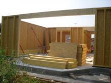 Maison ossature bois dans les yvelines