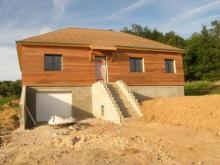 Maison ossature bois sur sous sol