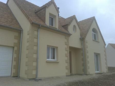 Construction d 39 une maison traditionnelle dans les yvelines for Construire sa maison yvelines