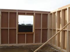 Descriptif mat riaux de construction murs en ossature bois for Prix materiaux construction maison