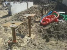 Micro pieux pour fondations maison bois