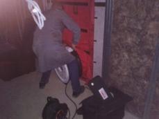 Mise en place du ventilateur