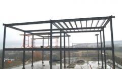 Montage de la structure portante