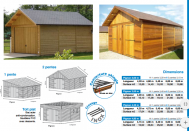 Morzine garage bois fabriqué en ossature bois