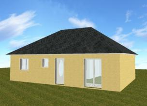 Pavillon traditionnelle 3 chambres