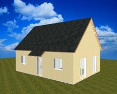 Pavillon traditionnelle combles amenages